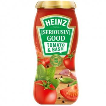 Heinz Seriously good tomato basil Pastasaus