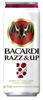 Bacardi Razz & Up tray 24x